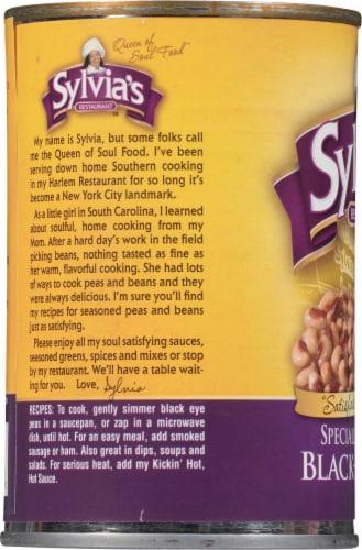 Sylvia's Specially Seasoned Black Eyed Peas Perspective: left