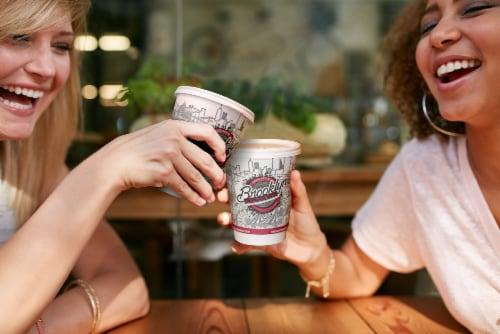 Brooklyn Beans Vanilla Flavored Coffee Pods, Vanilla Skyline, 40 Count Perspective: left