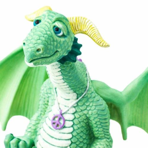 Safari 10153 Peace Dragon Figurine, Multi Color Perspective: left