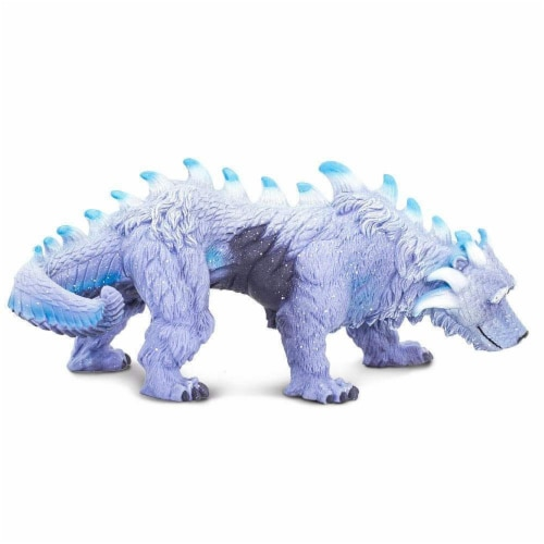 Arctic Dragon Toy Perspective: left