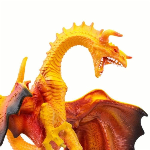 Lava Dragon Toy Perspective: left