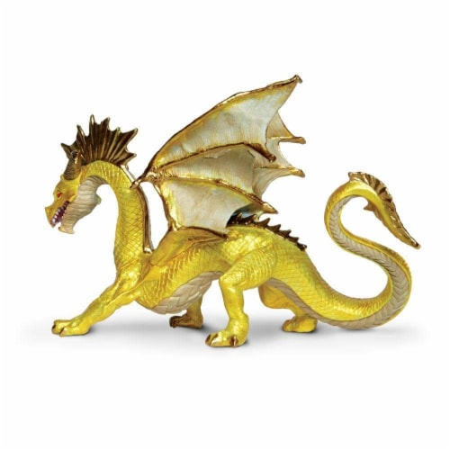 Golden Dragon Toy Perspective: left
