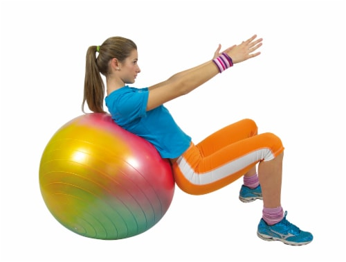 Gymnic Arte Fitness Ball Perspective: left