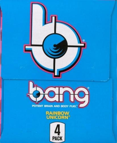 Bang Rainbow Unicorn Energy Drink Perspective: left
