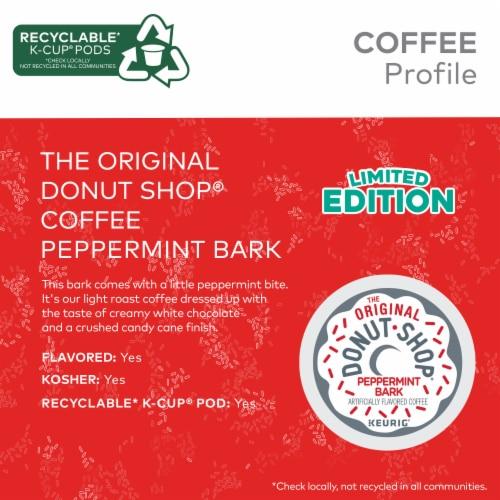 The Original Donut Shop® Peppermint Bark Light Roast Coffee K-Cup® Pods Perspective: left