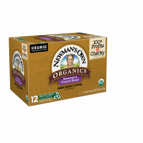 Newman's Own Organic French Roast K-Cup Pods Perspective: left