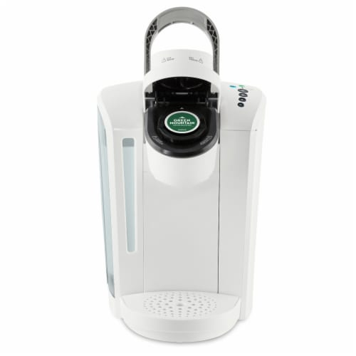 Keurig® K-Select Single-Serve K-Cup® Pod Coffee Maker - Matte White Perspective: left