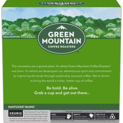 Green Mountain Coffee Nantucket Blend Medium Roast K-Cup Pods Perspective: left