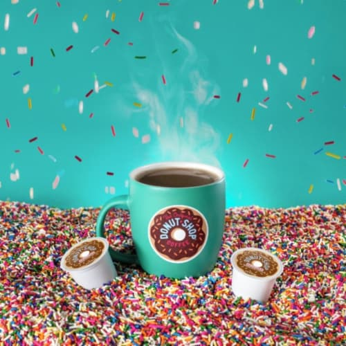 The Original Donut Shop Coffee Regular K-Cups Medium Roast Perspective: left