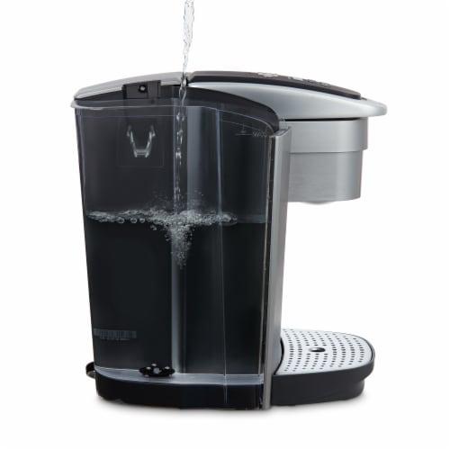 Keurig® K-Elite™ Single-Serve K-Cup® Pod Coffee Maker - Brushed Slate Perspective: left