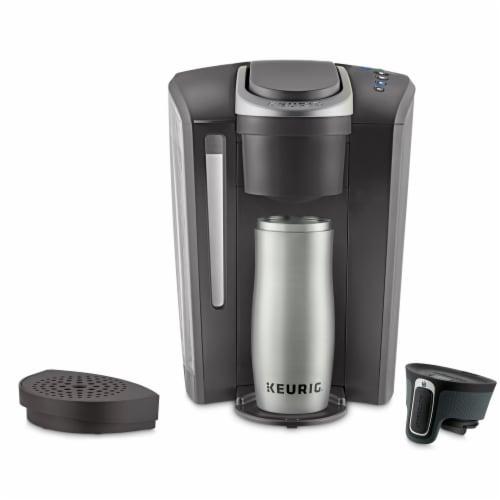 Keurig® K-Select Single Serve Coffee Maker - Volcanic Glass Perspective: left