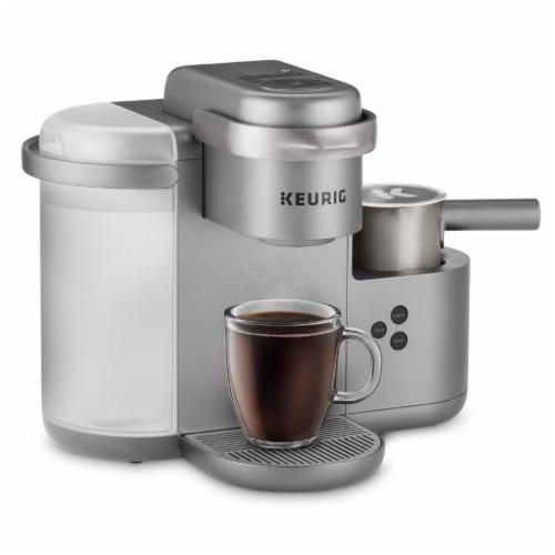 Keurig® K-Café Single Serve Coffee Latte and Cappuccino Maker - Nickel Perspective: left