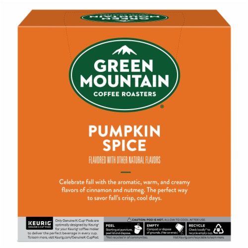 Green Mountain Coffee® Limited Edition Pumpkin Spice Coffee K-Cup Pods Perspective: left