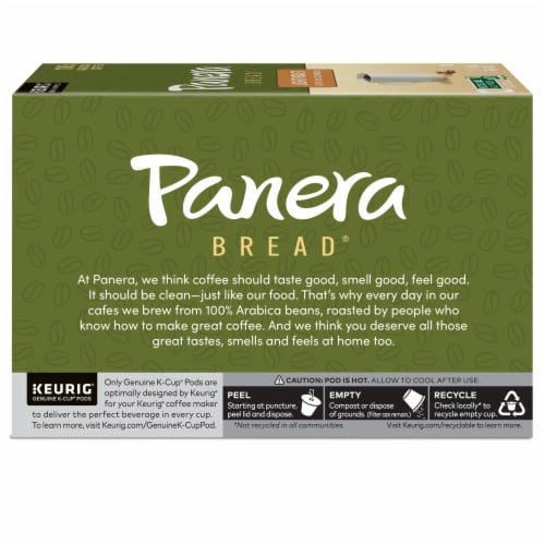 Panera Bread at Home Light Roast Coffee K-Cup Pods Perspective: left