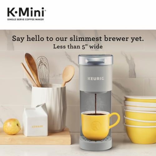 Keurig® K-Mini™ Studio Gray Single Serve Coffee Maker Perspective: left