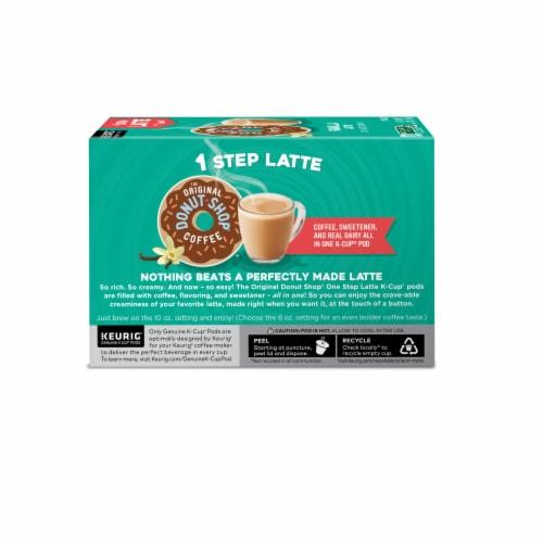 The Original Donut Shop Vanilla Latte K-Cup Pods Perspective: left