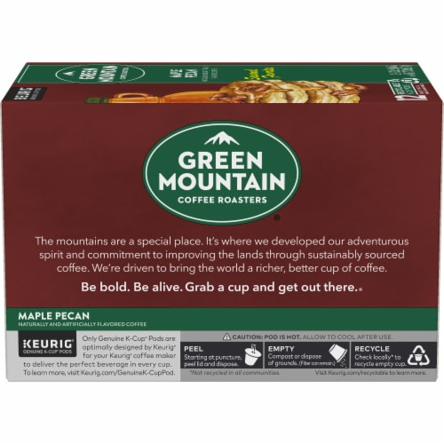 Green Mountain Coffee Limited Edition Maple Pecan Coffee K-Cup Pods Perspective: left