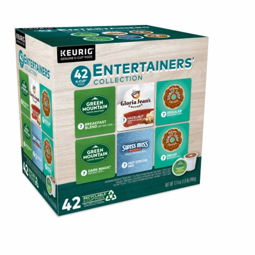 Keurig® Entertainers' Collection K-Cup Pods Variety Pack Perspective: left