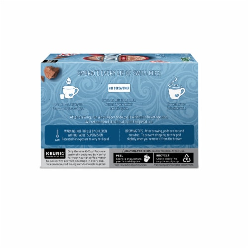 Swiss Miss® Peppermint Hot Cocoa K-Cup® Pods Perspective: left