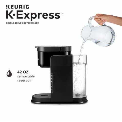 Keurig K-Express Single Serve K-Cup Pod Coffee Maker - Black Perspective: left