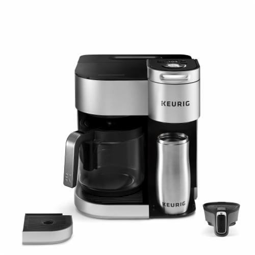 Keurig® K-Duo Special Edition Single Serve K-Cup Pod & Carafe Coffee Maker - Silver Perspective: left