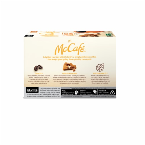 McCafe® Toffee Nut K-Cup Pods Perspective: left