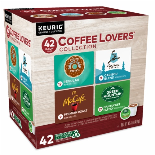 Keurig Coffee Lovers' Collection Single-Serve K-Cup Pod Variety Pack Perspective: left