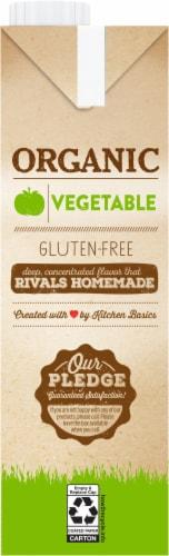 Kitchen Basics Organic Vegetable Stock Perspective: left