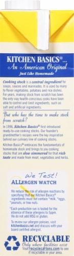 Kitchen Basics® Unsalted Chicken Stock Perspective: left