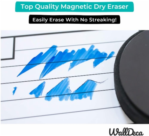 WallDeca Low-Odor Dry Erase Markers, Fine Tip, Assorted 13 Colors,  Whiteboard Marker Pens Perspective: left