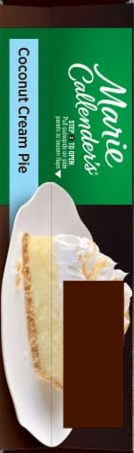 Marie Callender's Coconut Cream Pie Perspective: left