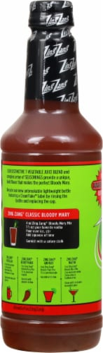 Zing Zang Bloody Mary Mix Perspective: left