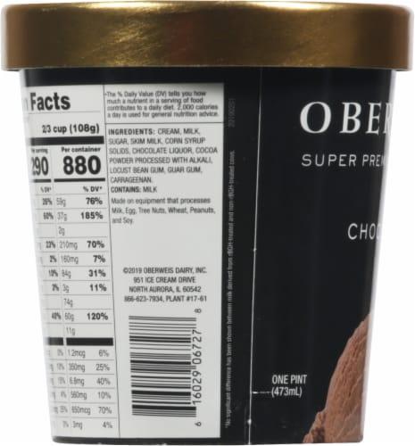 Oberweis Chocolate Ice Cream Perspective: left