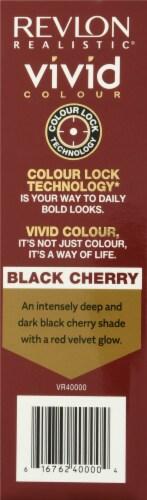 Revlon Realistic Black Cherry Vivid Hair Color Perspective: left