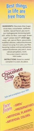 Kinnikinnick Gluten Free Montanas Chocolate Chip Cookies Perspective: left
