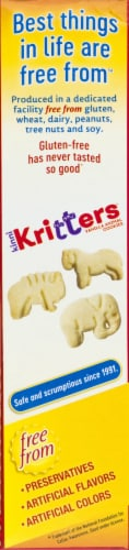 Kinnikinnick KinniKritters Animal Cookies Perspective: left