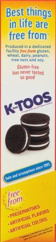 Kinnikinnick KinniToos Cookies Chocolate Sandwich Creme Perspective: left