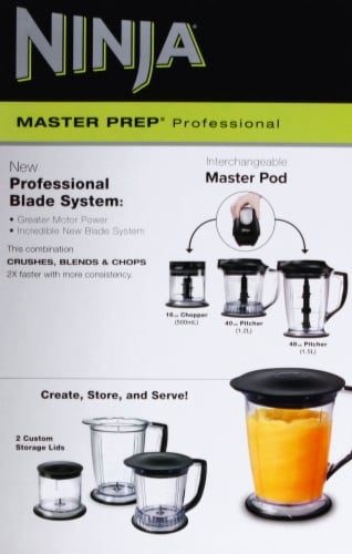 Ninja QB1004 Master Prep Professional System Perspective: left