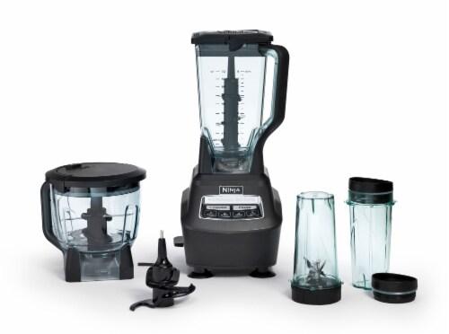 Ninja® Mega Kitchen System™ Set - Gray/Clear Perspective: left