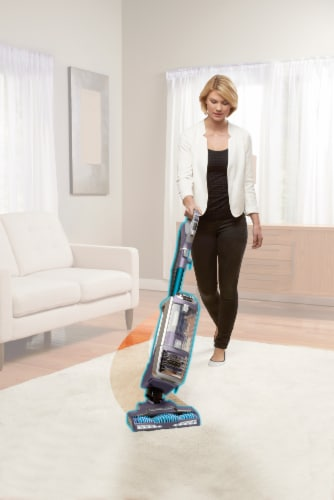 Shark® Rotator Powered Lift-Away Deluxe Vacuum - Purple Perspective: left