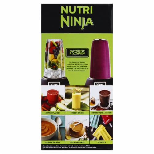 Ninja® Nutri Ninja Pro Blender - Gray/Black Perspective: left