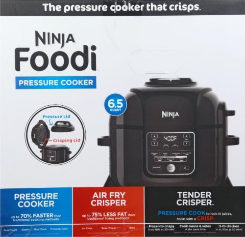 Ninja® Foodi Pressure Cooker - Black Perspective: left