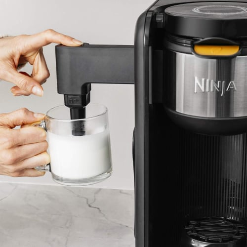 Ninja® Hot & Cold Brewed System Coffee Maker - Black/Silver Perspective: left