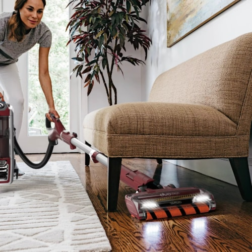 Shark ZU881® DuoClean with Self-Cleaning Brushroll Powered Lift-Away Vacuum Perspective: left