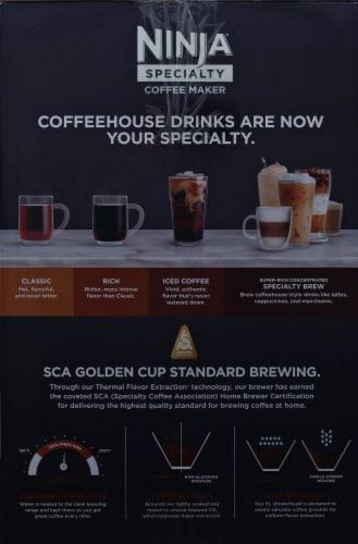 Ninja® Specialty Coffee Maker - Black/Silver Perspective: left