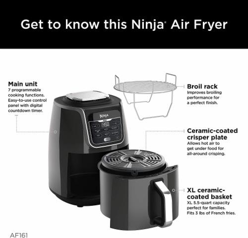 Ninja® AF 161 XL Max Air Fryer Perspective: left