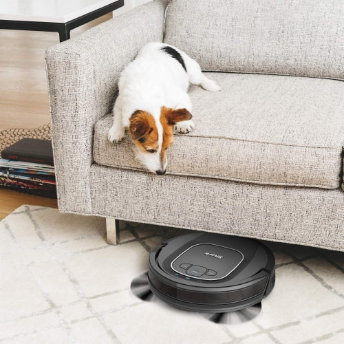 Shark® ION Robot Vacuum with Wi-Fi Perspective: left
