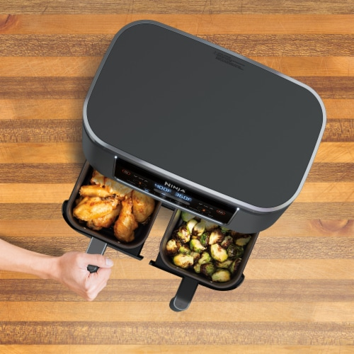 Ninja DZ201 Foodi 6-in-1 Air Fryer Perspective: left