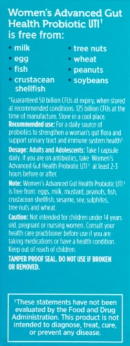 Genuine Health  Women's Advanced Gut Health Probiotic Daily UTI Perspective: left