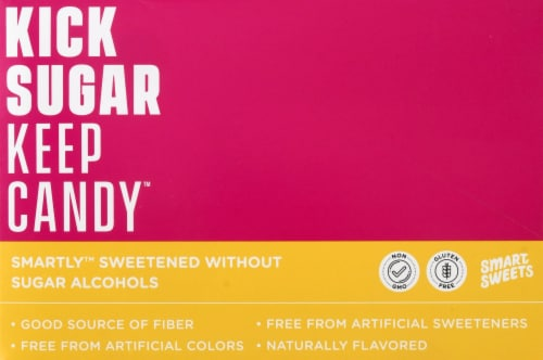 Smart Sweets Fruity Gummy Bears Perspective: left